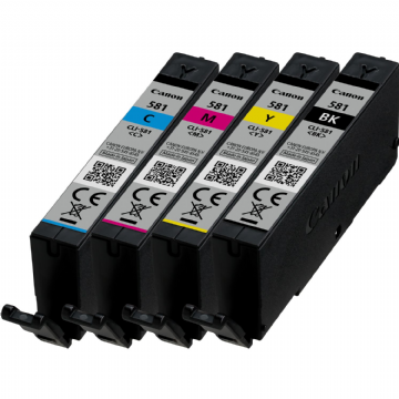 Canon CLI-581 XXL Multi (1998C005) Refurbished Ink Cartridges